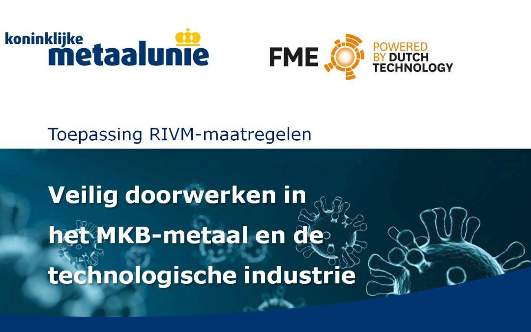Veilig doorwerken in het MKB-metaal en de technologische industrie